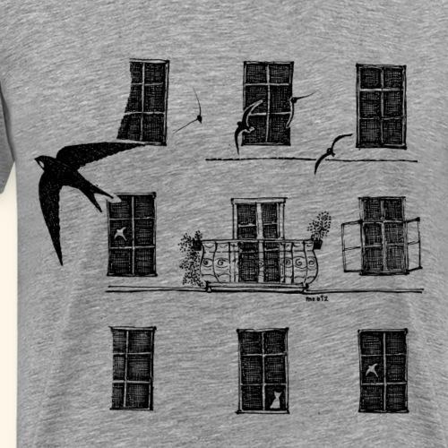 UrbanNature - Mauersegler - Männer Premium T-Shirt