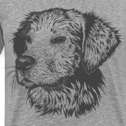 Cara de Perro - Camiseta premium hombre