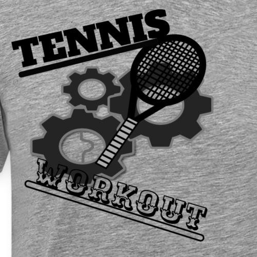 TENNIS WORKOUT - Men's Premium T-Shirt