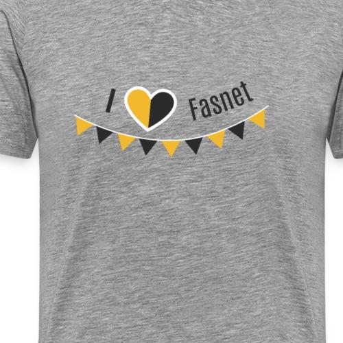 I love Fasnet - Männer Premium T-Shirt