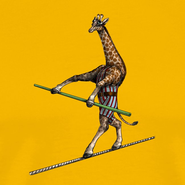 Giraffe Tightrope Walker