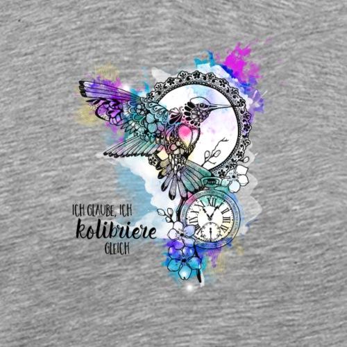 Kolibriere gleich - Männer Premium T-Shirt