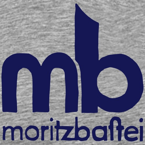 Logo 1980 handgezeichnet - Männer Premium T-Shirt