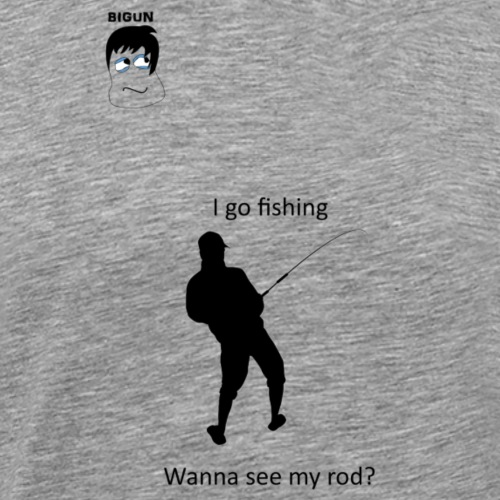Fishing rod - Men's Premium T-Shirt
