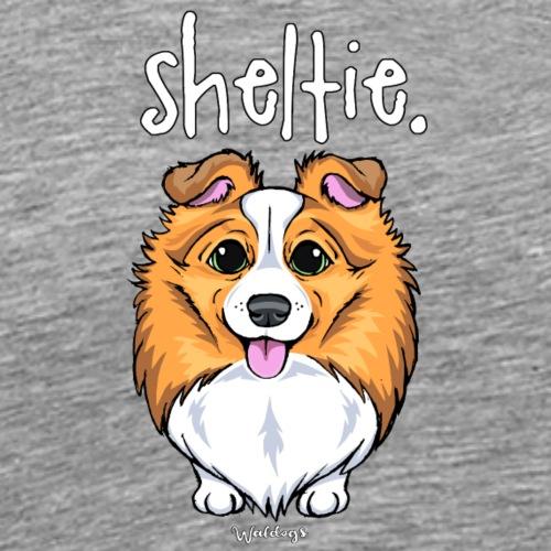Sheltie Dog Cute 5 - Men's Premium T-Shirt