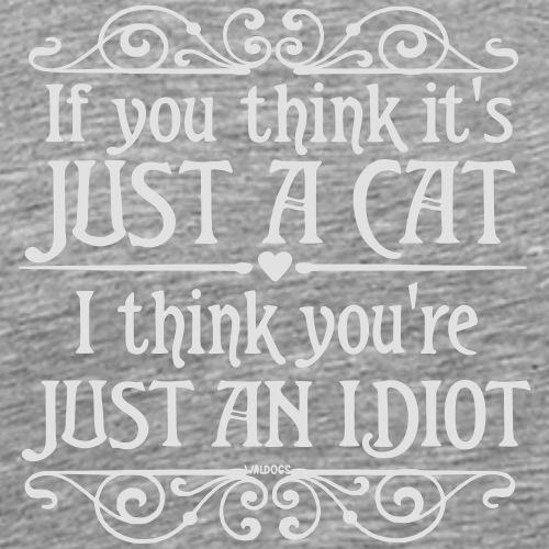 Just a Cat 2 - Miesten premium t-paita