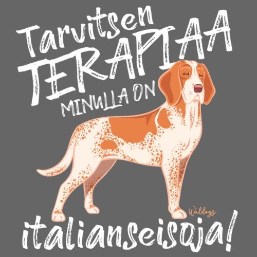 Bracco Terapiaa II - Miesten premium t-paita