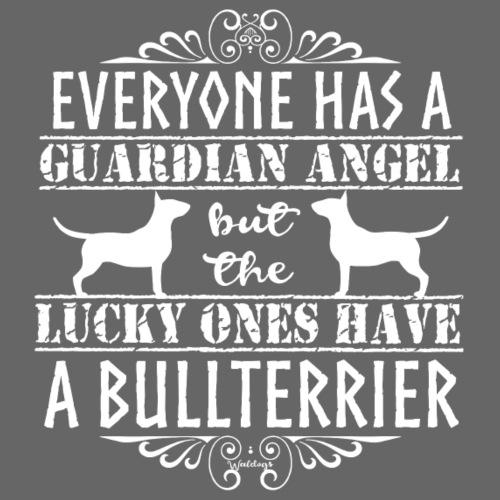 Bullterrier Angel 4 - Miesten premium t-paita