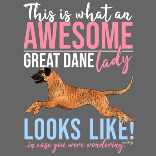 Great Dane Awesome VII - Miesten premium t-paita