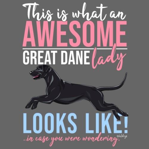 Great Dane Awesome II - Miesten premium t-paita