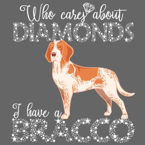 Bracco Diamonds - Miesten premium t-paita