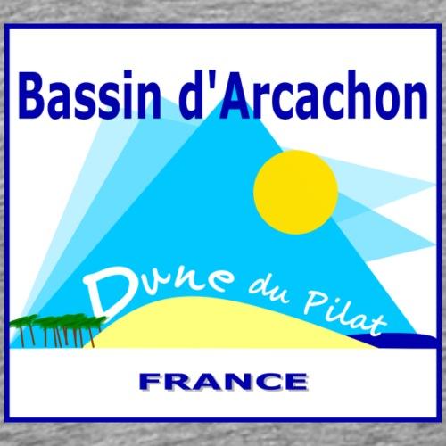 Bassin d'Arcachon - Dune du Pilat - Men's Premium T-Shirt