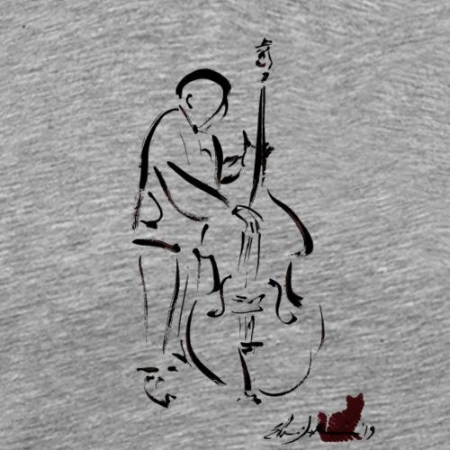 CONTRABBASSISTA - Maglietta Premium da uomo