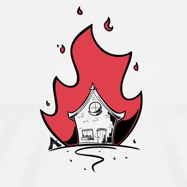 Maison éclairée