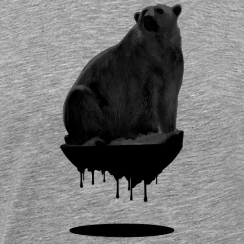 POLAR BEAR VS OIL - Premium-T-shirt herr