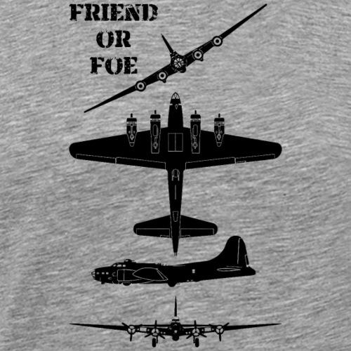 AVM WWII B-17 Flying Fortress Friend or Foe