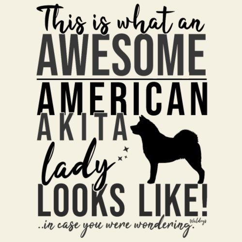 Awesome AA Lady II - Miesten premium t-paita