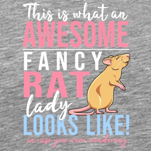 Fancyrat Awesome IX - Miesten premium t-paita