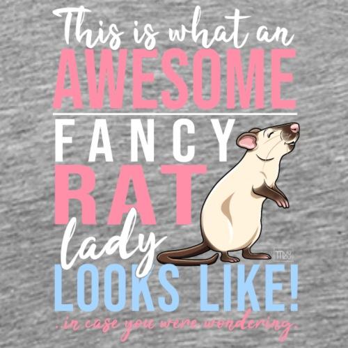 Fancyrat Awesome IV - Miesten premium t-paita