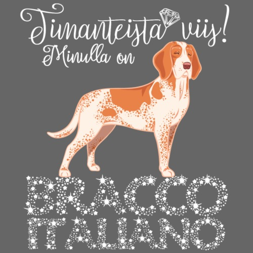 Bracco Timantti - Miesten premium t-paita