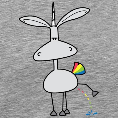 Dru - bunt pinkeln - Männer Premium T-Shirt