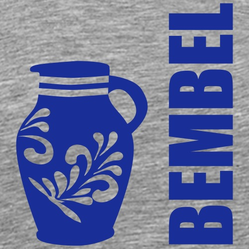 Frankfurter Bembel - Hessen - Männer Premium T-Shirt