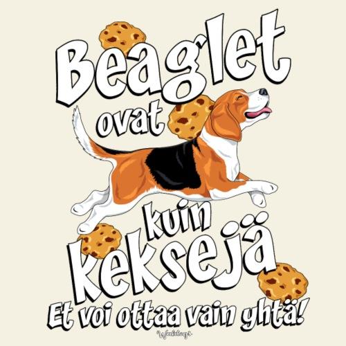 Beaglet ovat kuin Keksejä - Miesten premium t-paita