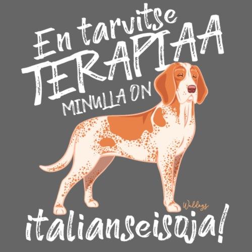 Bracco Terapiaa - Miesten premium t-paita