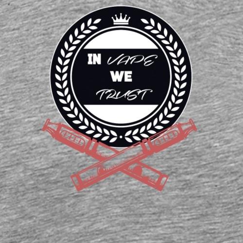 In vape we trust - Men's Premium T-Shirt