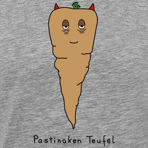 Pastinaken Teufel - Männer Premium T-Shirt