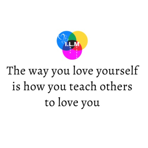 The way you love yourself - Herre premium T-shirt