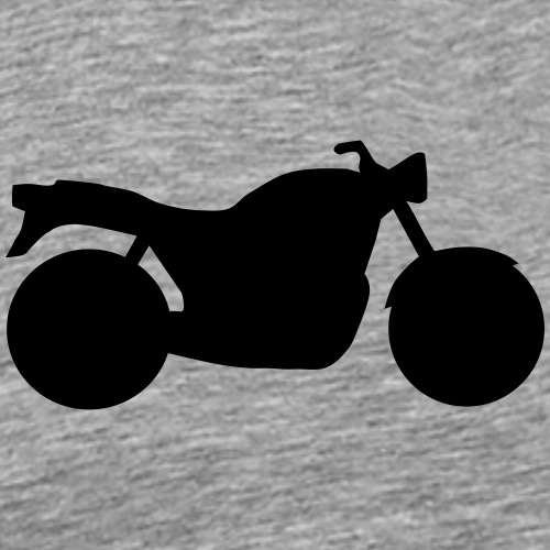 Naked Bike Classic 0NK02 - Men's Premium T-Shirt