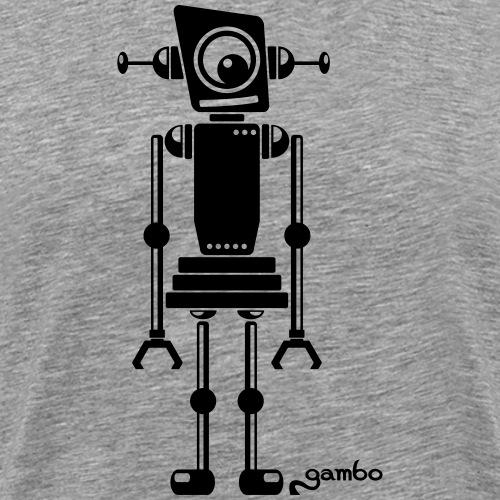 gambots roboter 07 - Männer Premium T-Shirt