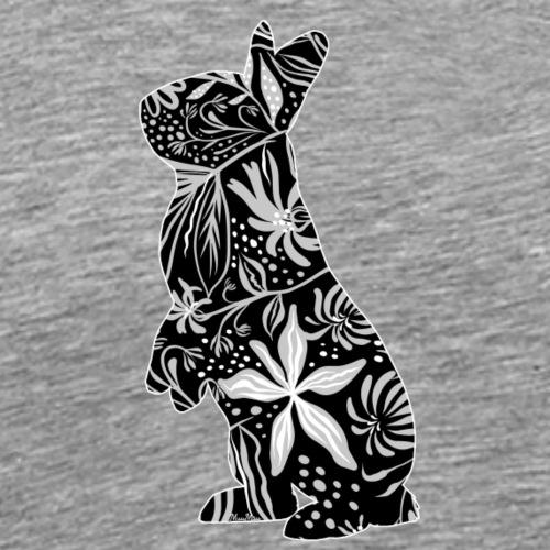 Flower Bunny I - Miesten premium t-paita