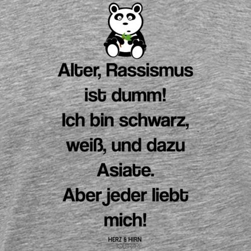 panda2 - Männer Premium T-Shirt