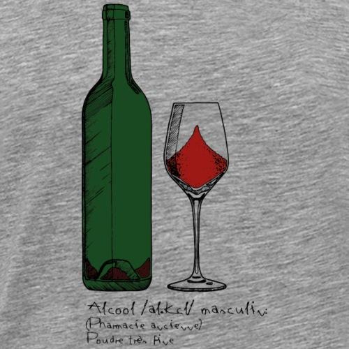 Vin couleur - T-shirt Premium Homme