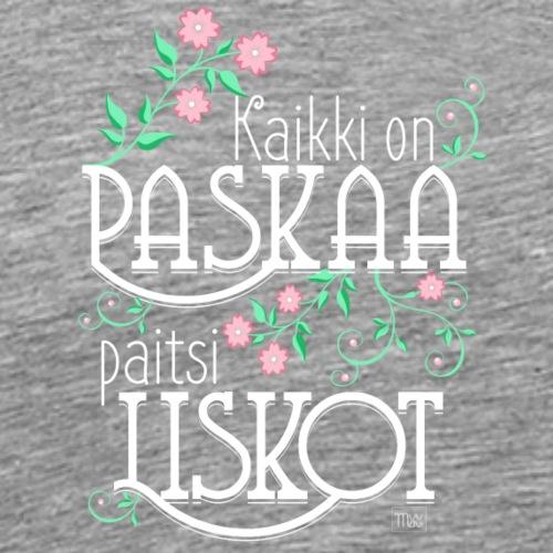 Paitsi Liskot - Miesten premium t-paita