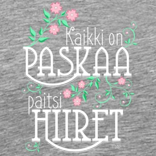Paitsi Hiiret - Miesten premium t-paita