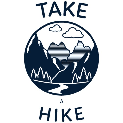 take a hike 2 - Männer Premium T-Shirt