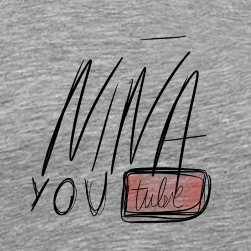 Niña Youtube - Camiseta premium hombre