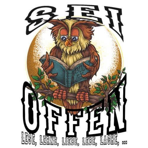 Sei OFFEN - Männer Premium T-Shirt