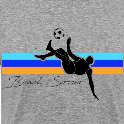 BEACH SOCCER - T-shirt Premium Homme