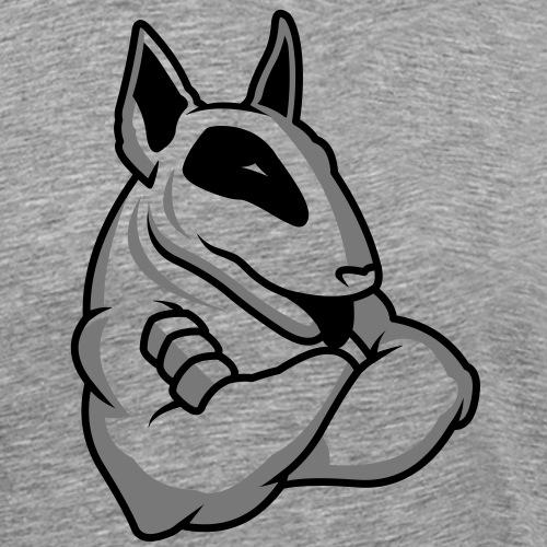 Bullterrier Maskottchen 2c - Männer Premium T-Shirt