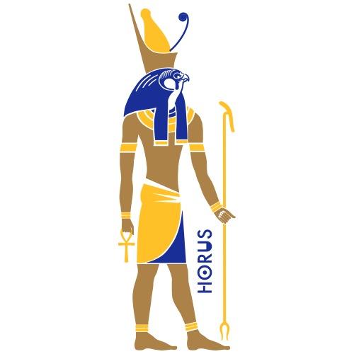 HORUS God of Egypt - Männer Premium T-Shirt