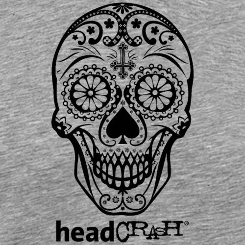 Skull & Logo black - Männer Premium T-Shirt
