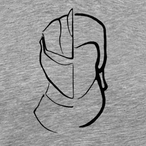 Historical Fencer - Men's Premium T-Shirt