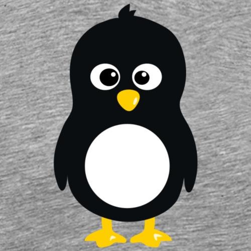 Pingouin linux - T-shirt Premium Homme