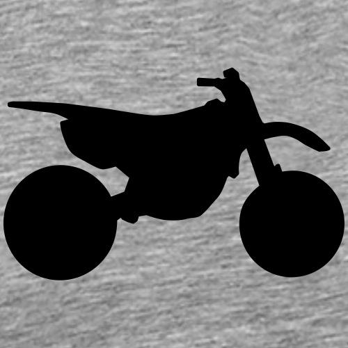 Dirtbike 9DB11 - Koszulka męska Premium