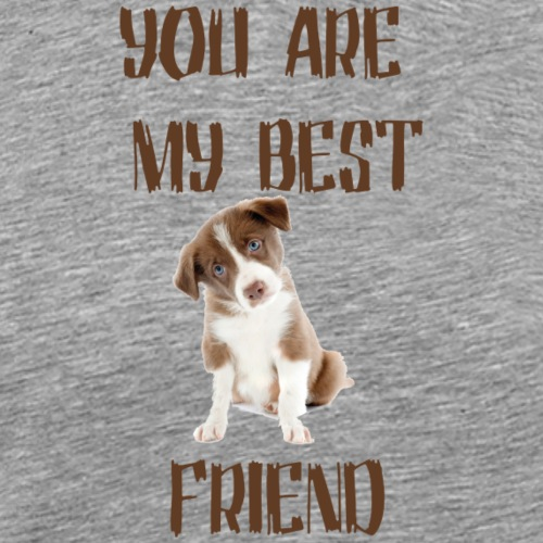you are my best friend - T-shirt Premium Homme