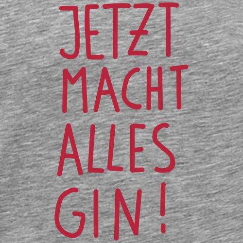 Gin - Männer Premium T-Shirt